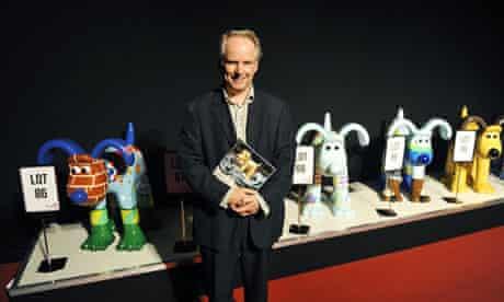Gromit sculptures auction