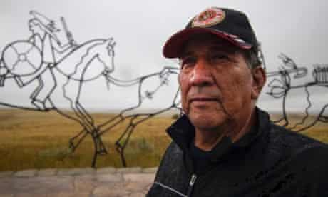 Mark Wandering Medicine, Native American voting rights campaigner