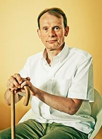 Andrew Marr at home in London
