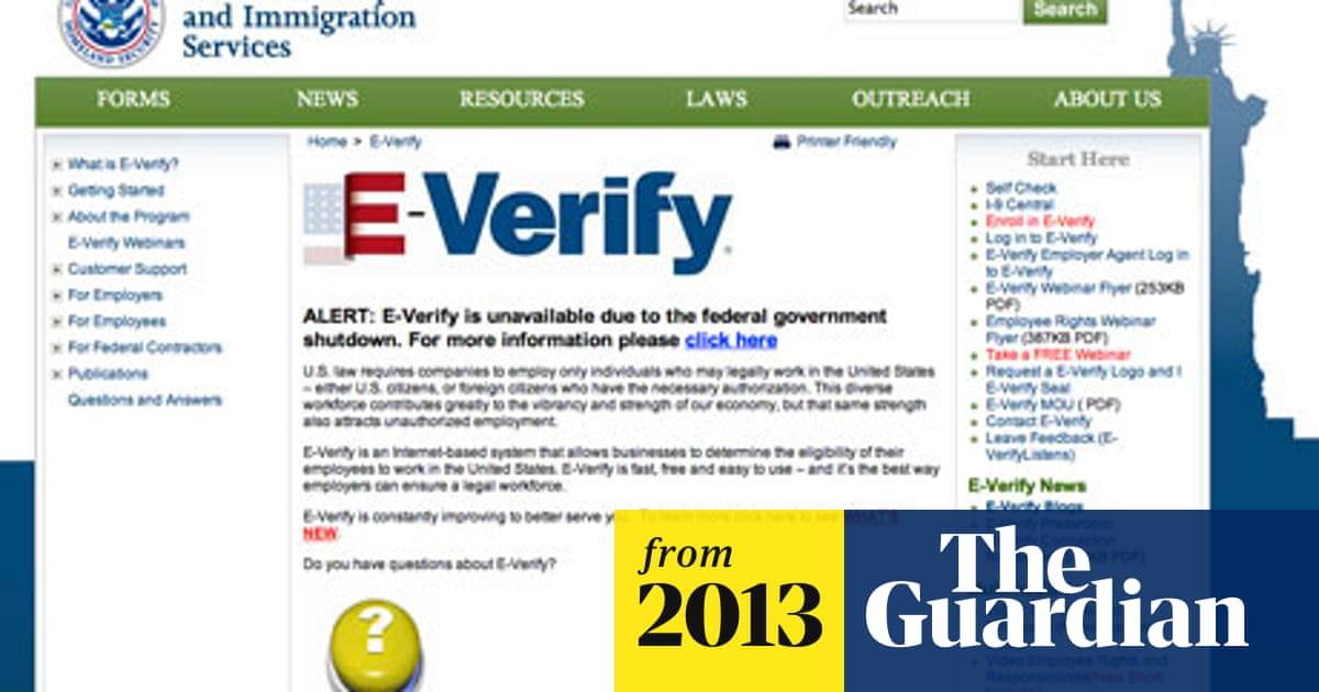 E-verify system forced offline – making employers nervous to hire
