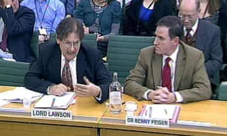 Lord Lawson climate change