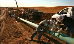 North Dakota gas pipeline