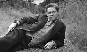 The poet, an 'unlikely icon' relaxes outdoors in 1946. I