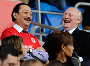 football: Cardiff City's owner Vincent Tan