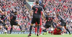 football.: Liverpool v Crystal Palace - Barclays Premier League