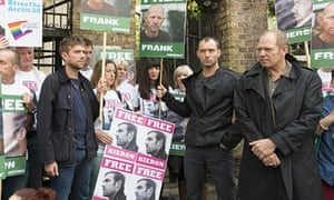 London: Celebrities support Greenpeace protest at Russian Embassy