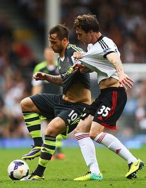 football..: Fulham v Stoke City - Premier League