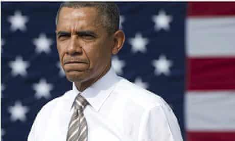Barack Obama speaks on the government shutdown