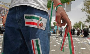 An Iranian wearing jeans