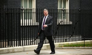 Alistair Carmichael, the new Scottish secretary, arrives at No 10 on 7 October 2013.
