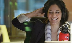 Mishal Husain makes her debut as a BBC Radio 4 Today programme presenter