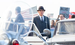Billy Bob Thornton as the head of the Secret Service in Dallas, in a scene from the new movie Parkland, which recounts the chaos at the hospital to which President Kennedy was rushed after the shooting.