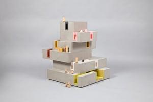 Doll's houses: DUGGAN MORRIS ARCHITECTSIn collaboration with Unit 22 Modelmakers