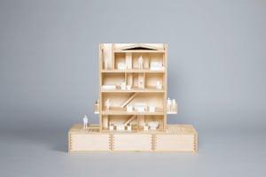 Doll's houses: GLENN HOWELLS