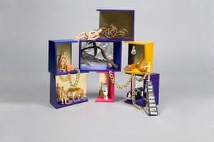 Doll's houses: Studio Egret West