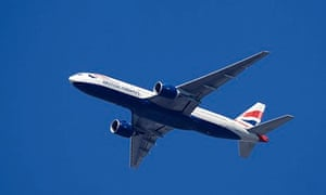 British Airways aeroplane. Image shot 2008. Exact date unknown.