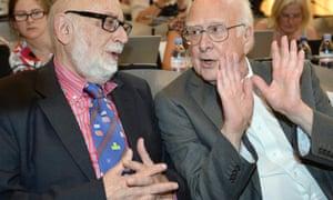 2013 physics Nobel prizewinners Francois Englert and Peter Higgs