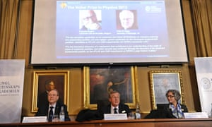 Royal Swedish Academy of Sciences announces that that Peter Higgs and Francois Englert have won the 2013 Nobel Prize in Physics