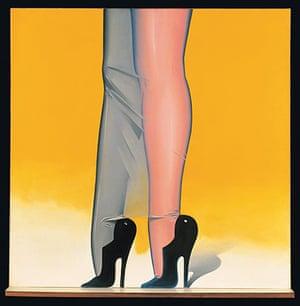 Pop art: Allen Jones, First Step, 1966