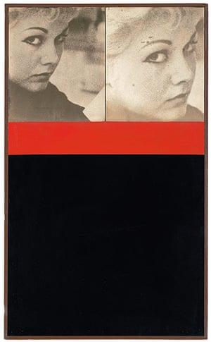 Pop art: Peter Blake, Kim Novak, 1959 Private Collection