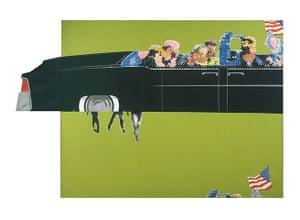 Pop art: Gerald Laing, Lincoln Convertible, 1964