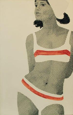 Pop art: Gerald Laing, Number Seventy-One, 1965