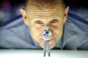 3d printing: Evan Davis opens the 3D printing exhibition at the Science Museum