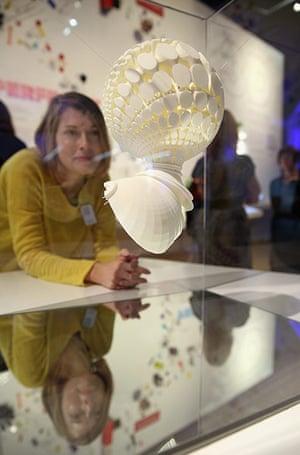 3d printing: a 3D-printed artwork by Tobias Klein entitled Inversive Embodiment