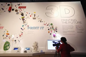 3d printing: 3D printed objects at the Science Museum
