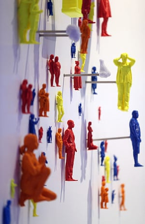 3d printing: Some 3D printed models of human figures