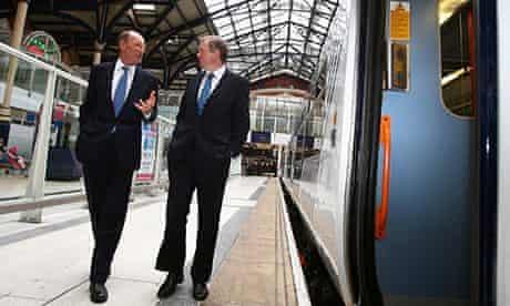 Rail Minister and ODA Chairman Open New Rail Hub
