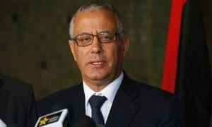 Libya PM Ali Zeidan