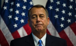 A House divided… Speaker John Boehner is standing firm on Republican demands for healthcare concessions