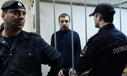 Mikhail Kosenko has been convicted for 'calling for mass riots'