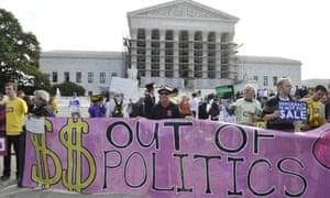 US Supreme Court campaign finance