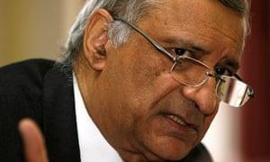 Commonwealth secretary general, Kamalesh Sharma