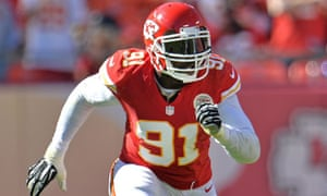 Tamba Hali in action