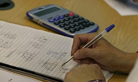 The OECD survey found low levels of achievement in numeracy and literacy tests among the UK populati
