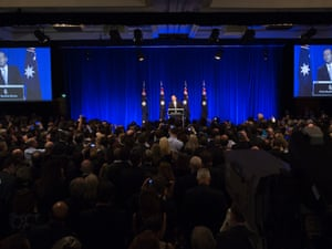 Tony Abbott claims victory in the 2013 Federal election.