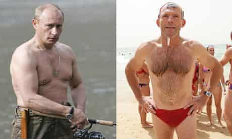 Vladimir Putin and Tony Abbott