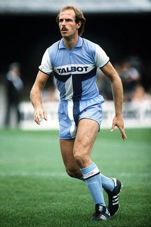 football kits: Coventry City.