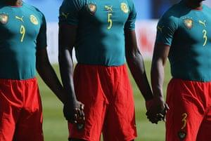 football kits: Cameroon v Nigeria