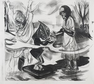 Kara Walker: slavery, sex and shadow puppets - in pictures ...
