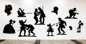Kara Walker: Auntie Walker's Wall Sampler for Civilians, 2013