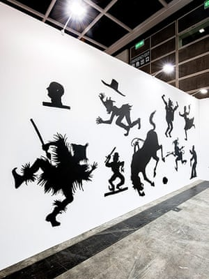 Kara Walker: Auntie Walker's Wall Sampler for Savages, 2013