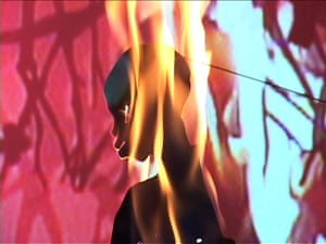 Kara Walker: Still from Fall From Grace, Miss Pipi's Blue Tale, 2011Video