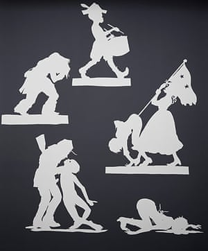 Kara Walker: Wall Sampler 1, 2013