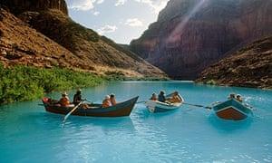 Grand Canyon boats