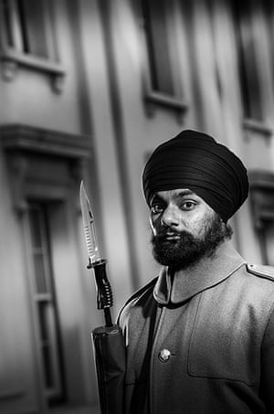 Army Photographic winners: Guardsman Jatenderpal Singh Bhullar, 25, from West Bromwich, has just joine