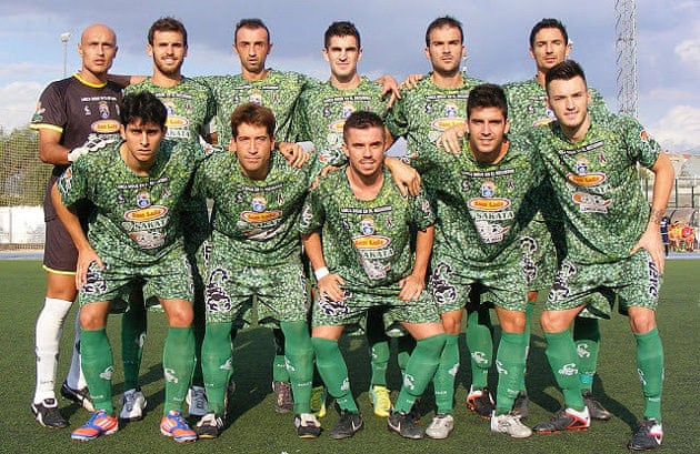 39c836210 Football kits  30 of the most weird and horrendous – in pictures ...